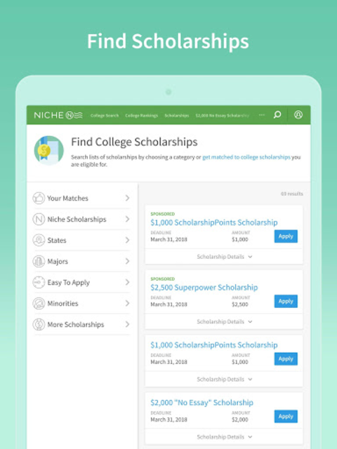 Niche: Colleges, K-12, Companies & Neighborhoods screenshot 16