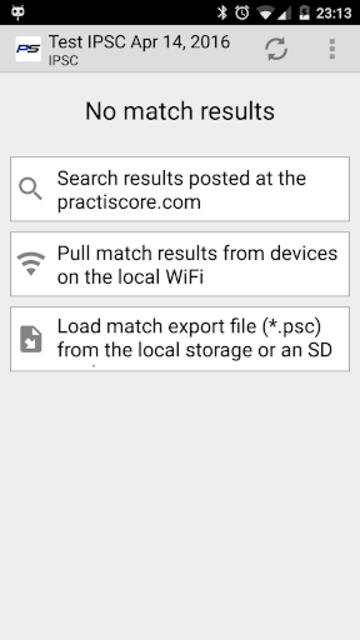 PractiScore Competitor screenshot 1