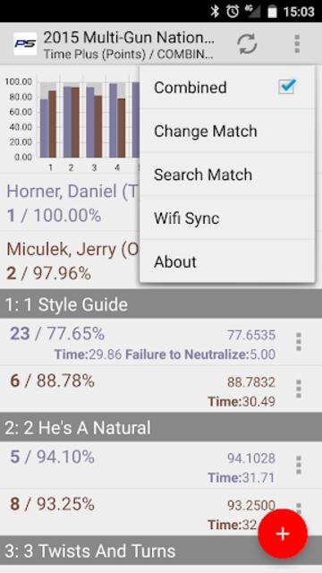 PractiScore Competitor screenshot 3