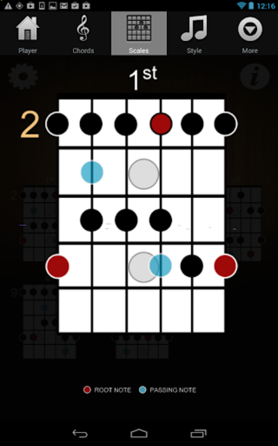 Guitar Jam Tracks Scales Buddy screenshot 8