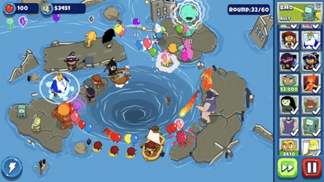 Bloons Adventure Time TD screenshot 2