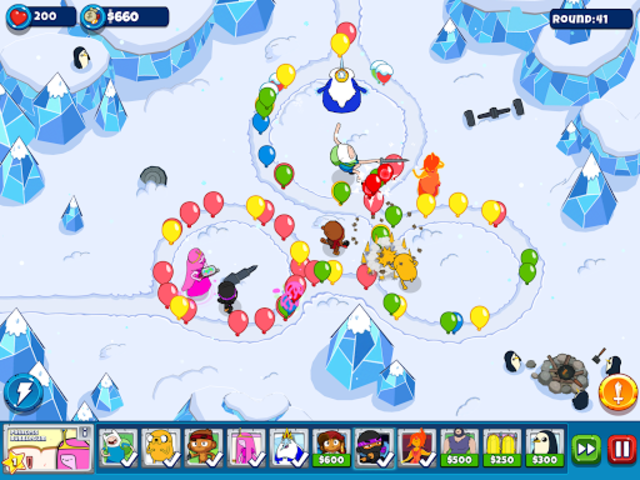Bloons Adventure Time TD screenshot 8