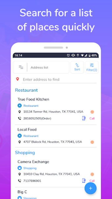 Places Map - Save & Share favorite places screenshot 4