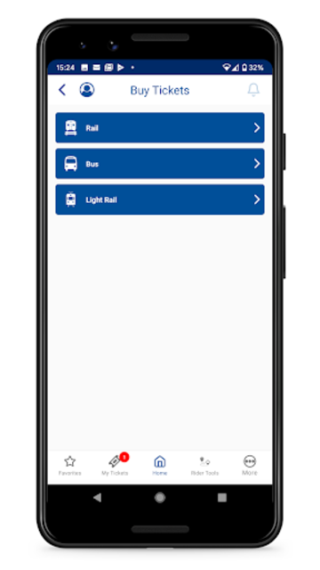 NJ TRANSIT Mobile App screenshot 2