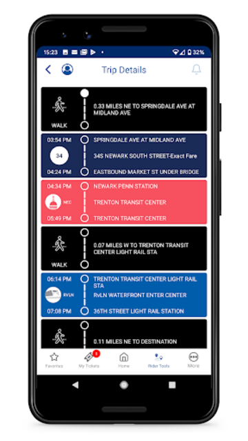 NJ TRANSIT Mobile App screenshot 6