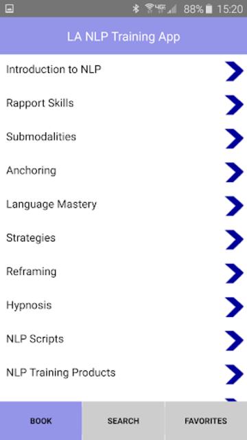 NLP Practitioner Training App screenshot 2
