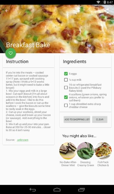 All Recipes No-Ads screenshot 10