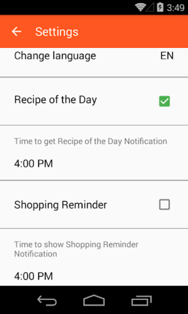 Healthy Recipes No-Ads screenshot 5