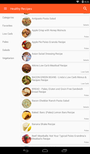 Healthy Recipes No-Ads screenshot 7