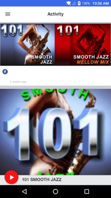 101 SMOOTH JAZZ screenshot 2