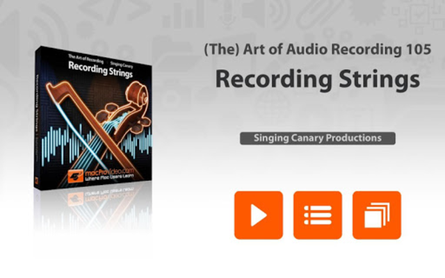 Course For Recording Strings screenshot 1