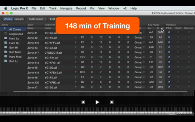 Course For EXS24 Logic Pro screenshot 2
