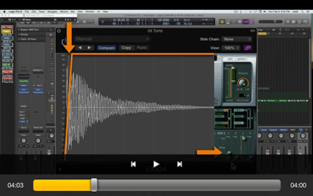 Course For EXS24 Logic Pro screenshot 5