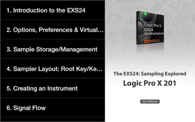 Course For EXS24 Logic Pro screenshot 6