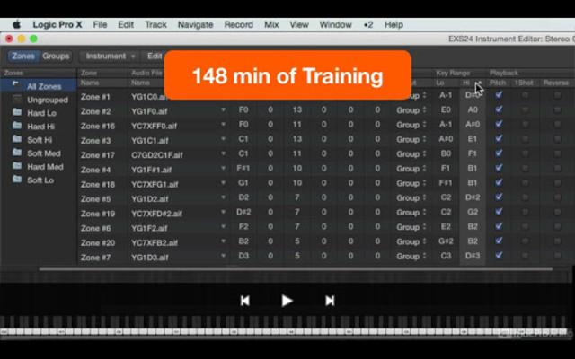 Course For EXS24 Logic Pro screenshot 8