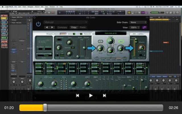 Course For EXS24 Logic Pro screenshot 9