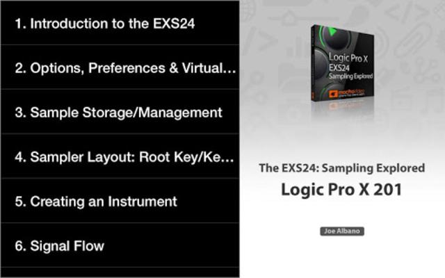 Course For EXS24 Logic Pro screenshot 12