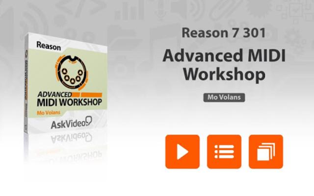 Advanced MIDI Workshop screenshot 1