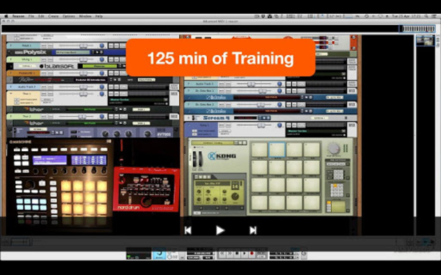 Advanced MIDI Workshop screenshot 2