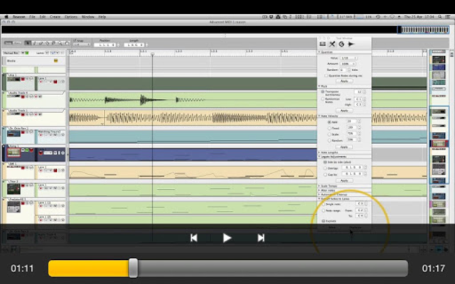 Advanced MIDI Workshop screenshot 6