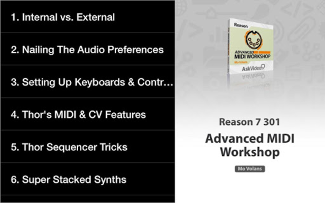 Advanced MIDI Workshop screenshot 7