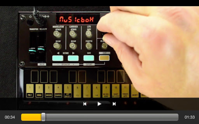 Exploring volca fm screenshot 3
