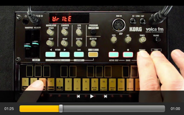 Exploring volca fm screenshot 4