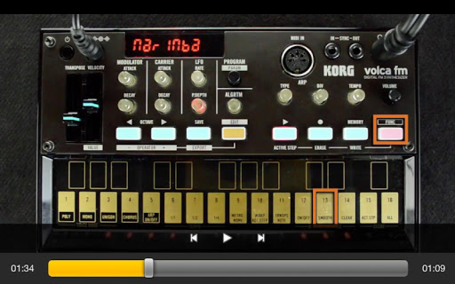 Exploring volca fm screenshot 5