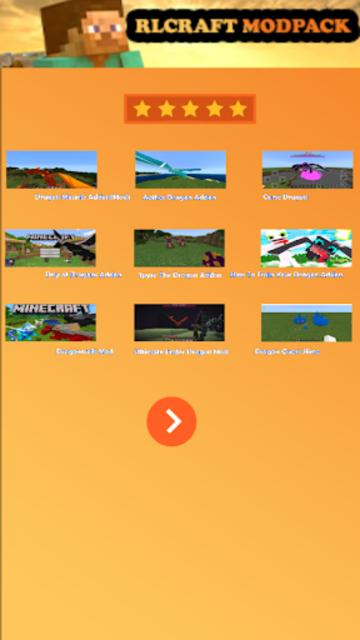 Mod RLCraft modpack for MCPE screenshot 1