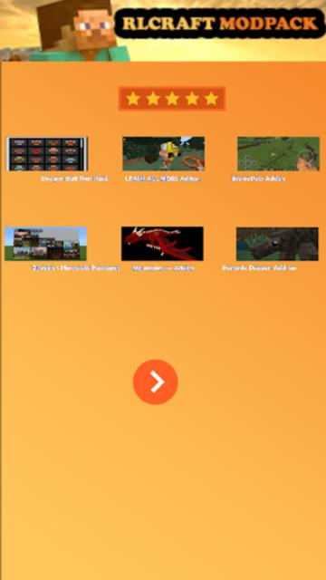 Mod RLCraft modpack for MCPE screenshot 2