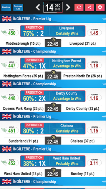 Tips Predictions-Football LITE screenshot 4
