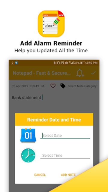 Notepad - Fast & Secure Notepad Application screenshot 3