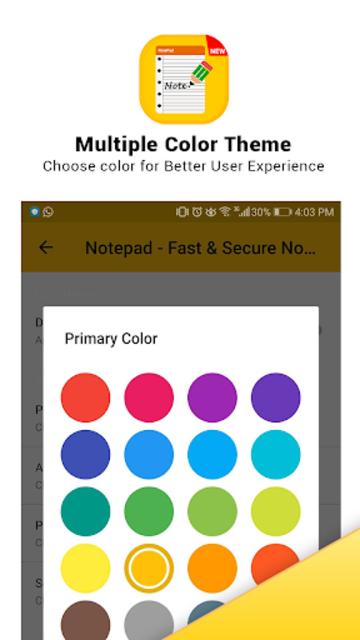 Notepad - Fast & Secure Notepad Application screenshot 16