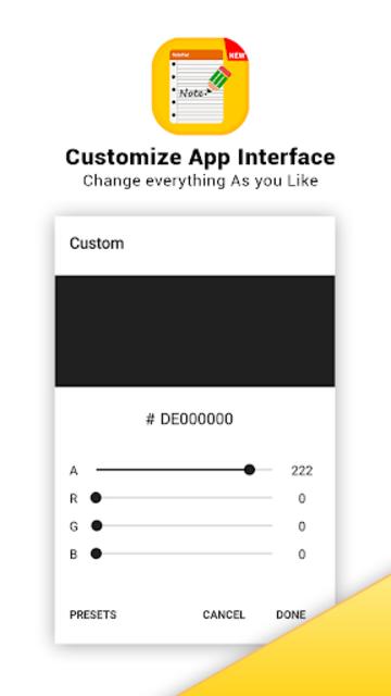 Notepad - Fast & Secure Notepad Application screenshot 17