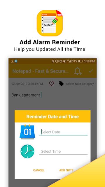 Notepad - Fast & Secure Notepad Application screenshot 20