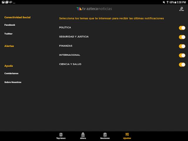 Azteca Noticias screenshot 16