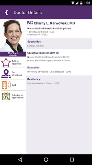 Novant Health screenshot 6