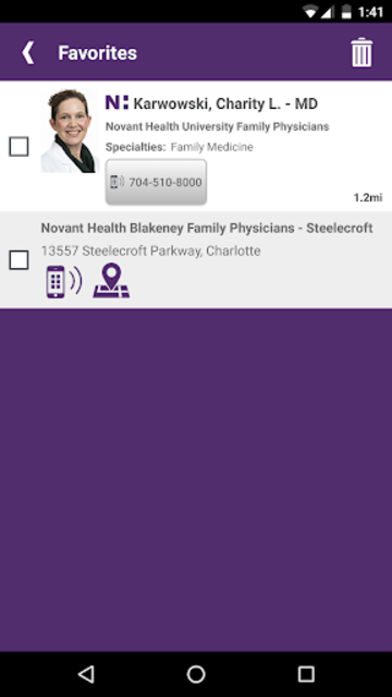 Novant Health screenshot 8