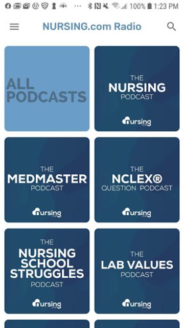 NURSING.com Radio screenshot 1