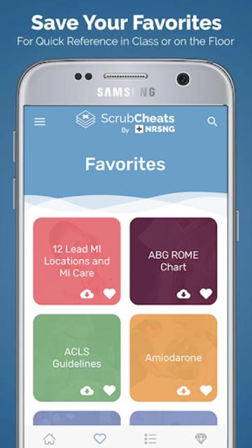 ScrubCheats - Nursing & NCLEX Cheatsheets by NRSNG screenshot 3