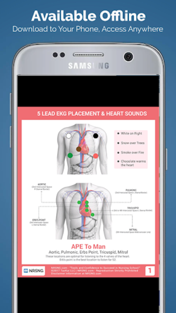ScrubCheats - Nursing & NCLEX Cheatsheets by NRSNG screenshot 5
