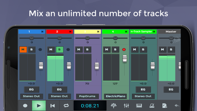 n-Track Studio Music DAW screenshot 3