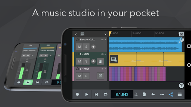 n-Track Studio Music DAW screenshot 1