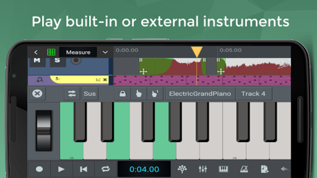 n-Track Studio 9 Pro Music DAW screenshot 6