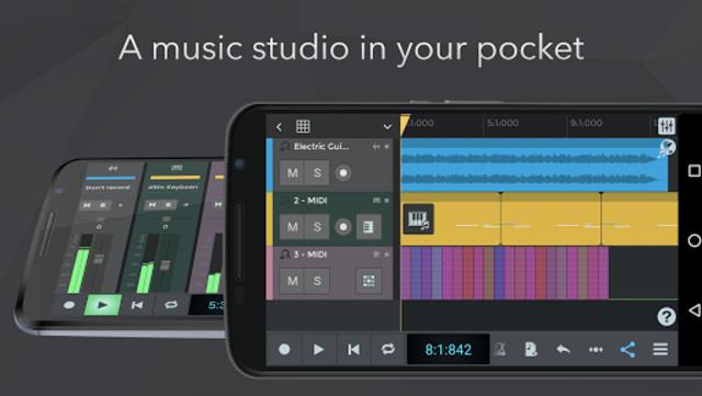 n-Track Studio 9 Pro Music DAW screenshot 1