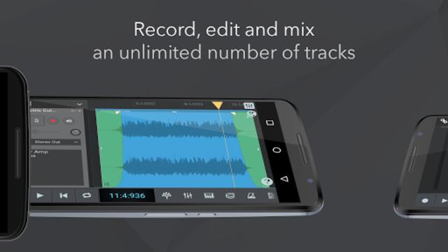 n-Track Studio 9 Pro Music DAW screenshot 2