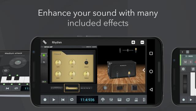 n-Track Studio 9 Pro Music DAW screenshot 3