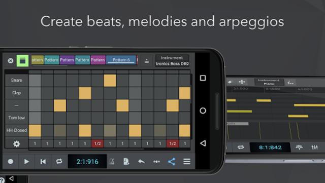 n-Track Studio 9 Pro Music DAW screenshot 5