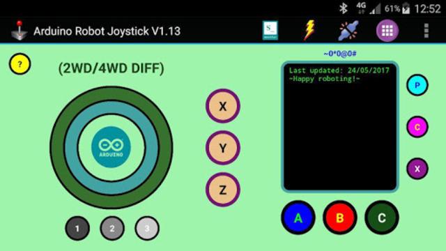 Arduino Robot Joystick screenshot 1