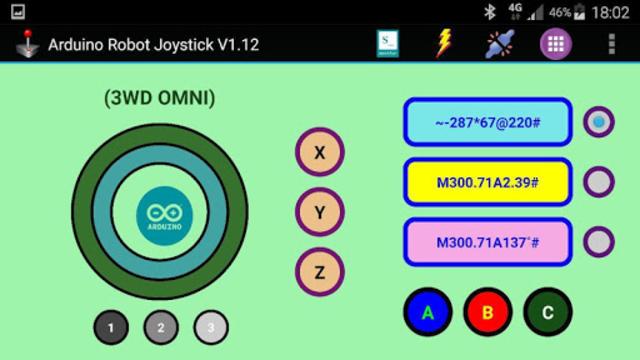 Arduino Robot Joystick screenshot 3